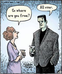 Frankenstein Bizarrocomics
